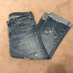 7 FOR ALL MANKIND capris 30